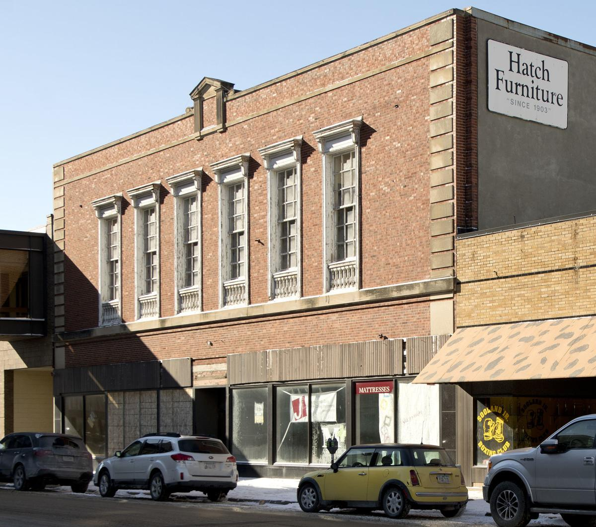 Hatch Building, Commerce Building, old Methodist Hospital