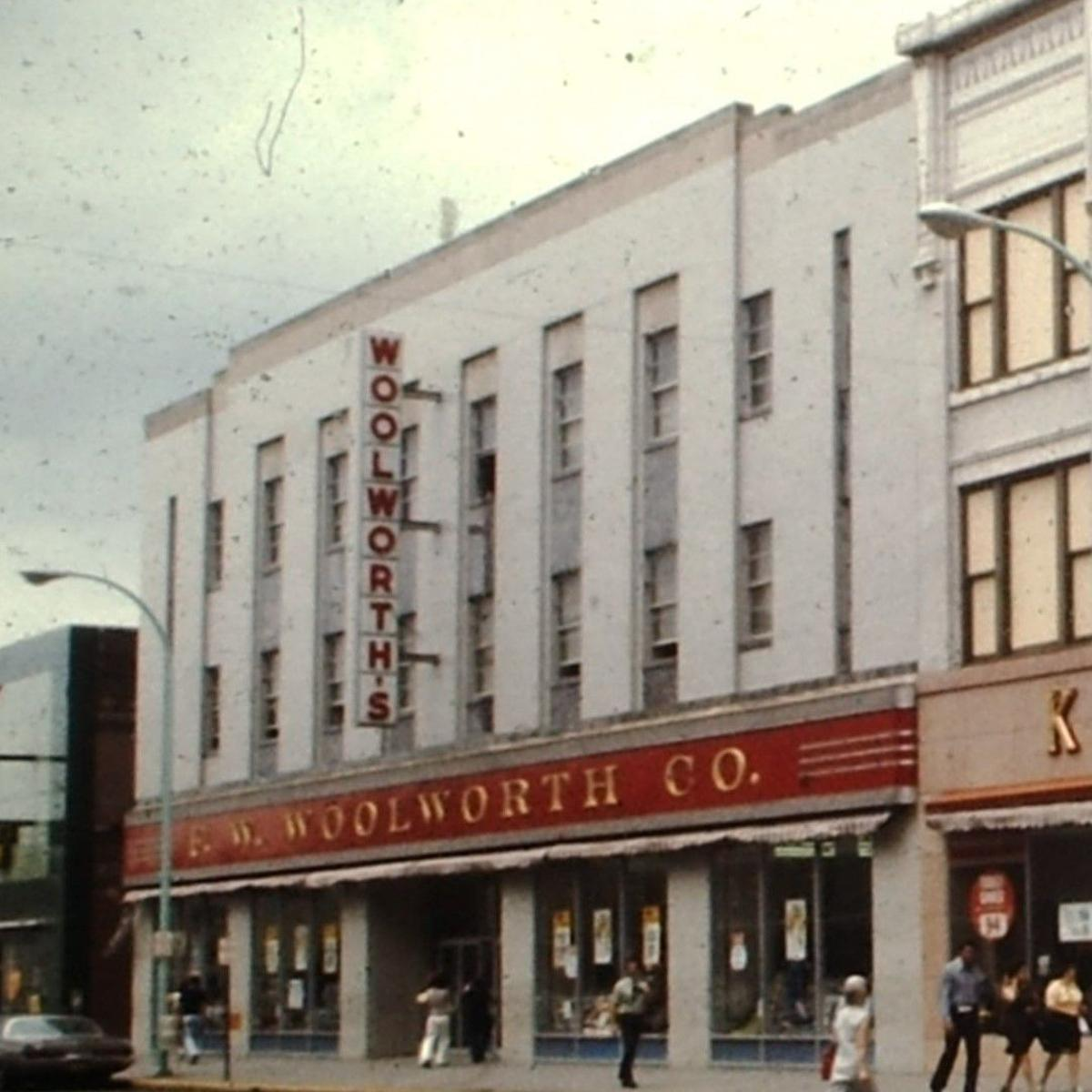 50 years ago: F  W  Woolworth Co  store begins extensive