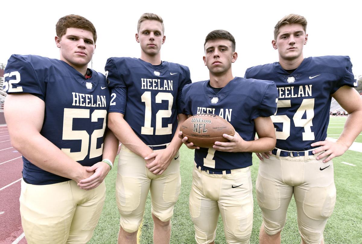 2019 football media day Heelan High School
