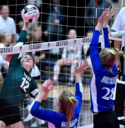 Iowa State Volleyball Gehlen vs. Holy Trinity