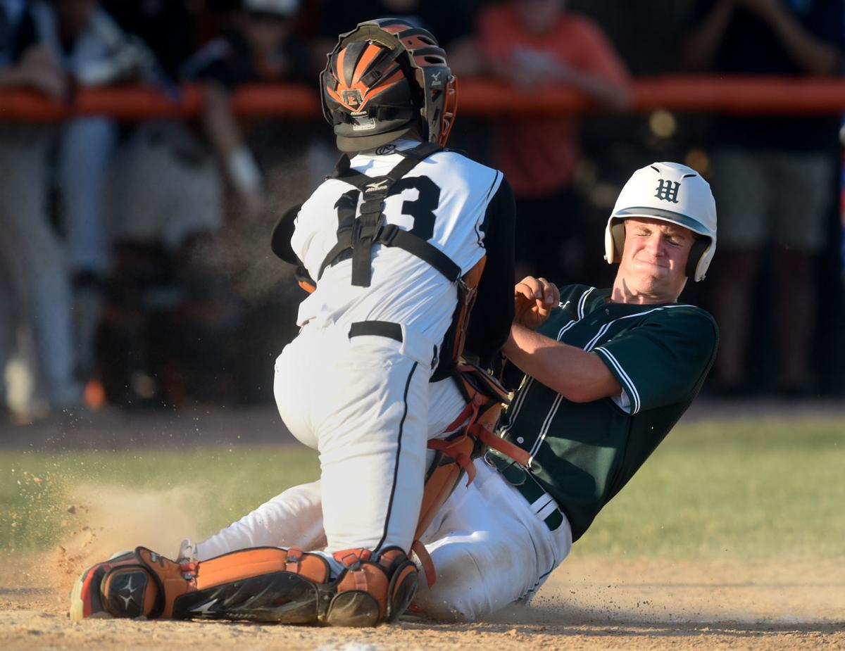 Baseball Sioux City West at Sioux City East