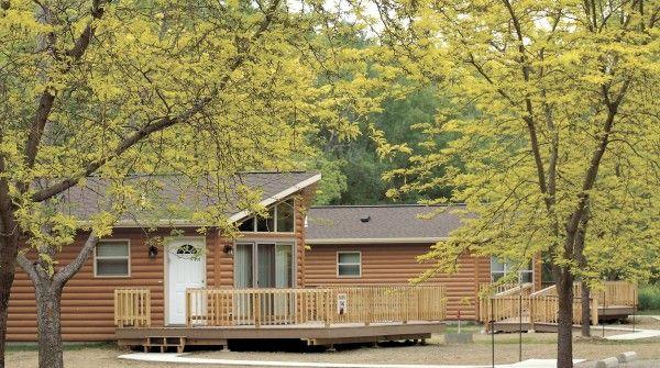 Snyder Bend cabins