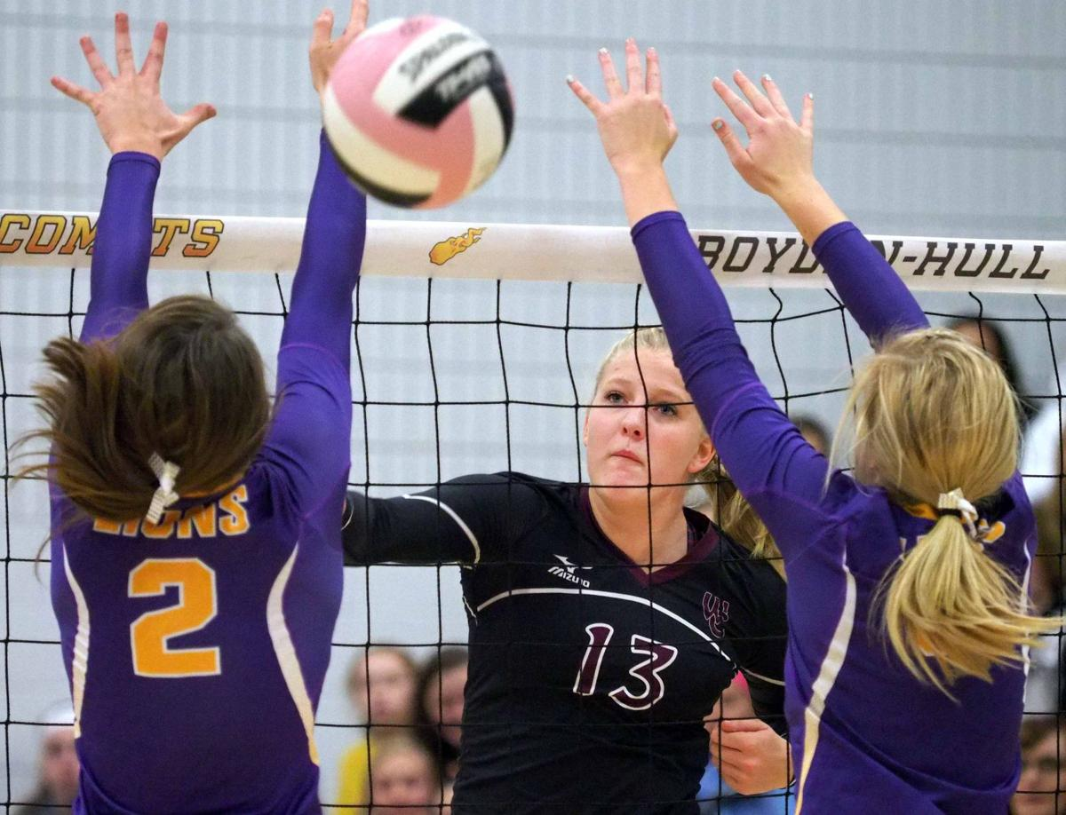 Central Lyon vs Western Christian volleyball