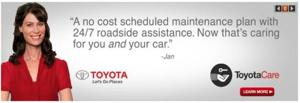 24/7 Roadside Assistance With Toyota Care