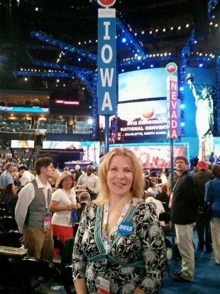 Kim Weaver at DNC