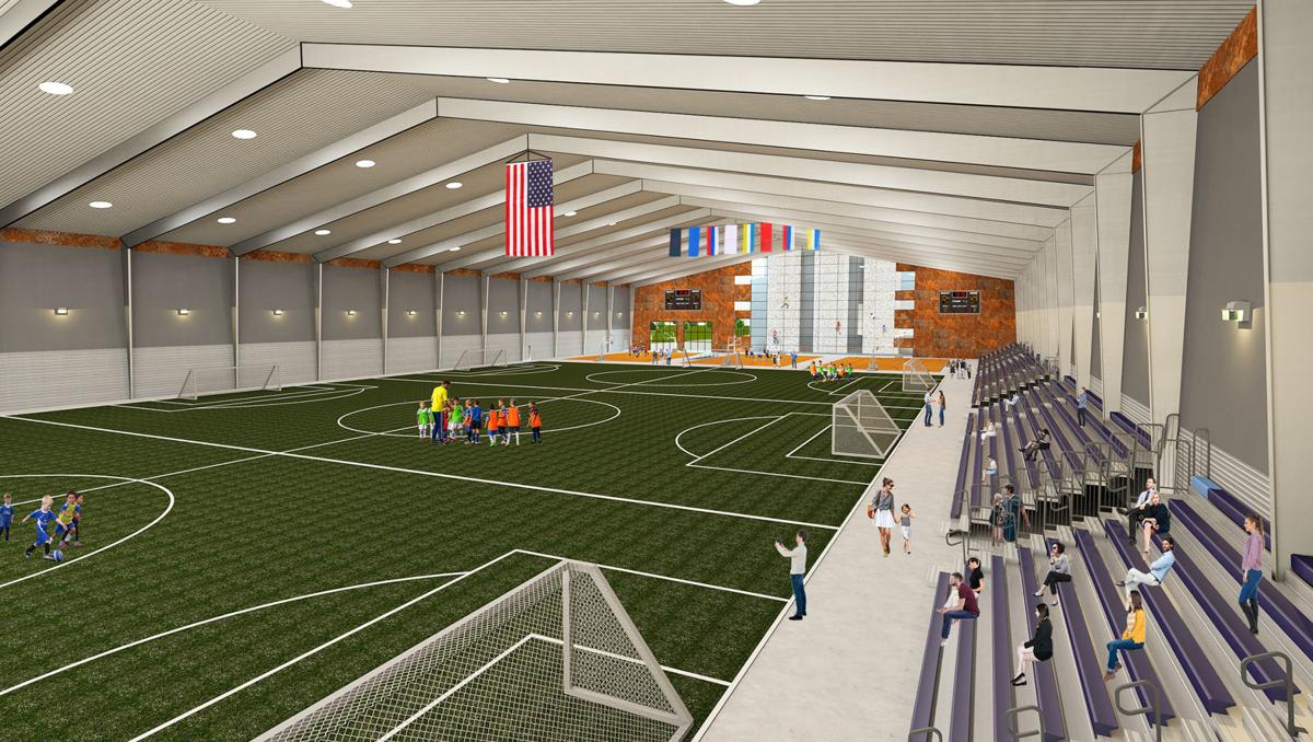 Siouxland Expo Center (interior) - New Rendering