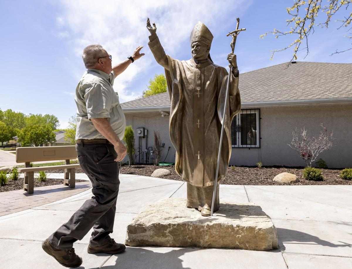 New statue at Trinity Heights