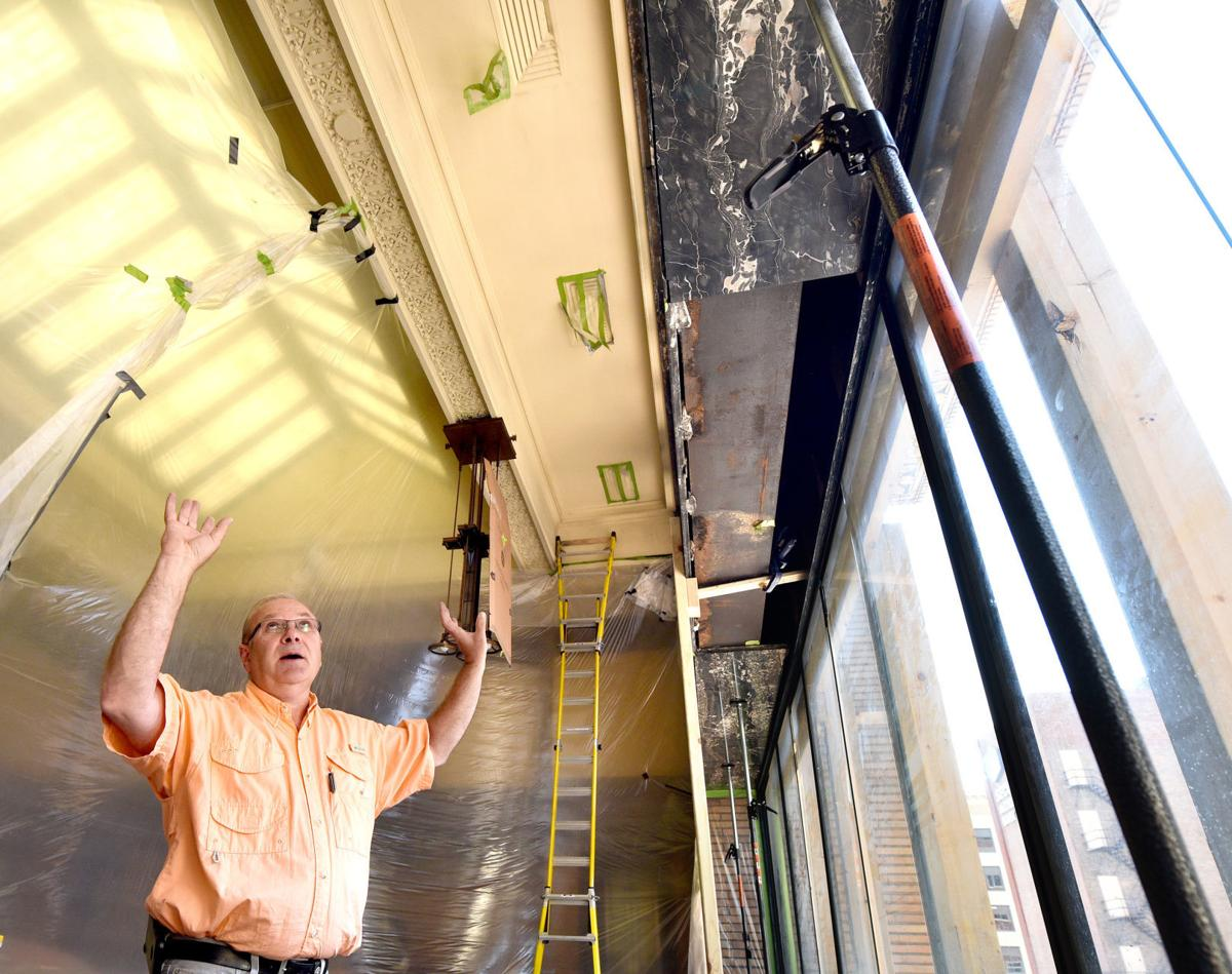 Woodbury County courtroom repairs