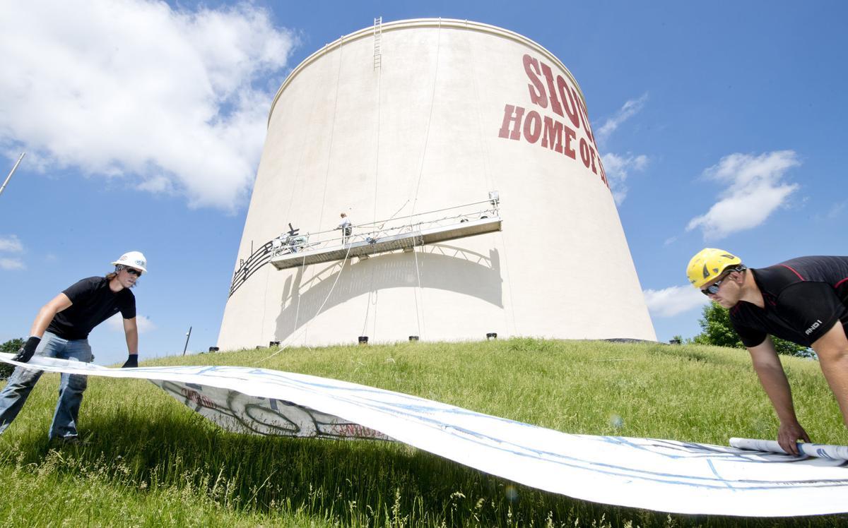 Sioux City Sue water reservoir