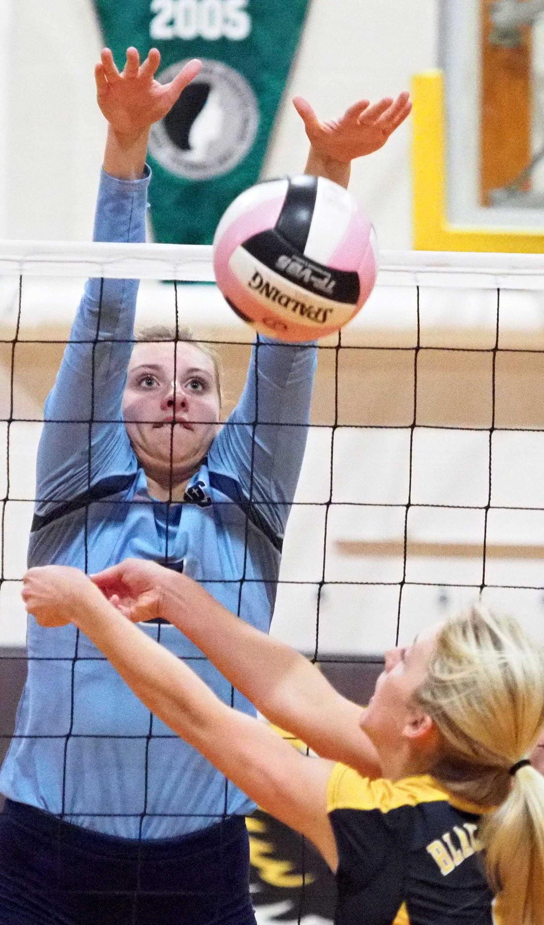 Unity Christian at Hinton volleyball