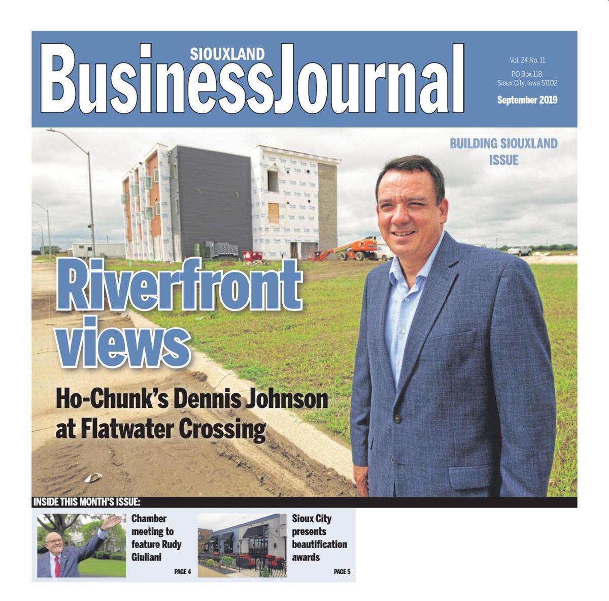 Siouxland Business Journal - Sept. 2019