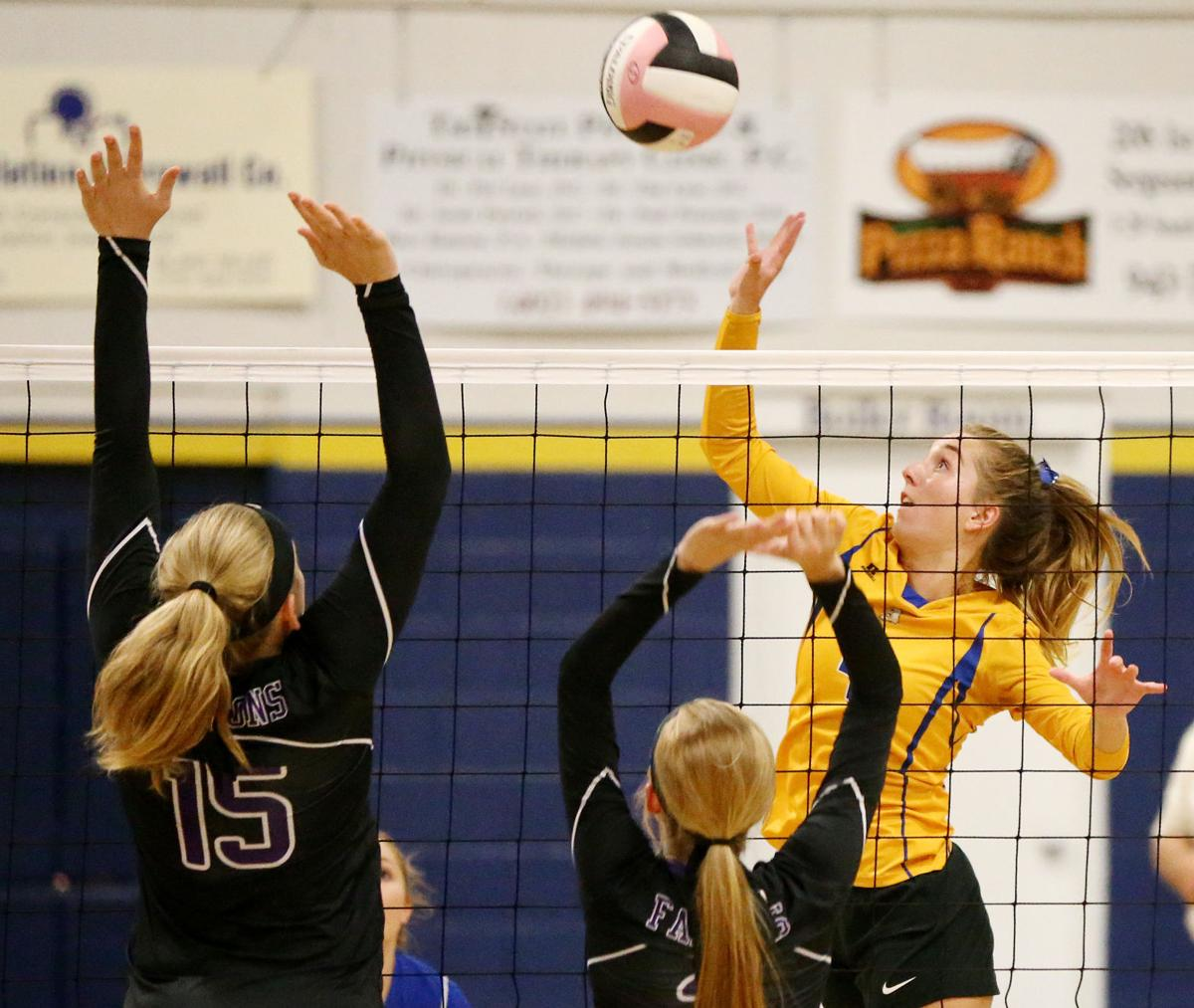 OA-BCIG at Siouxland Christian volleyball
