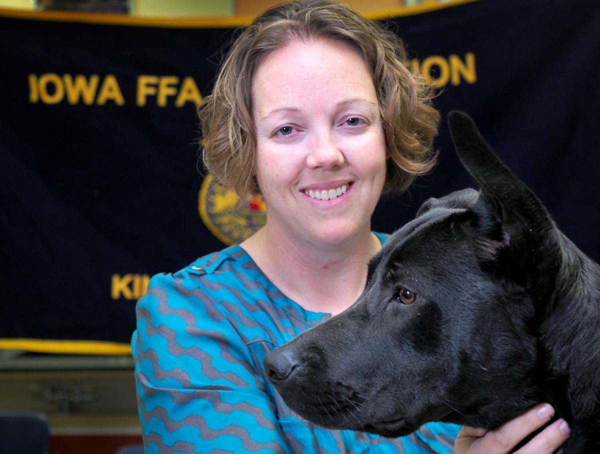 Female veteran Molli Griffin