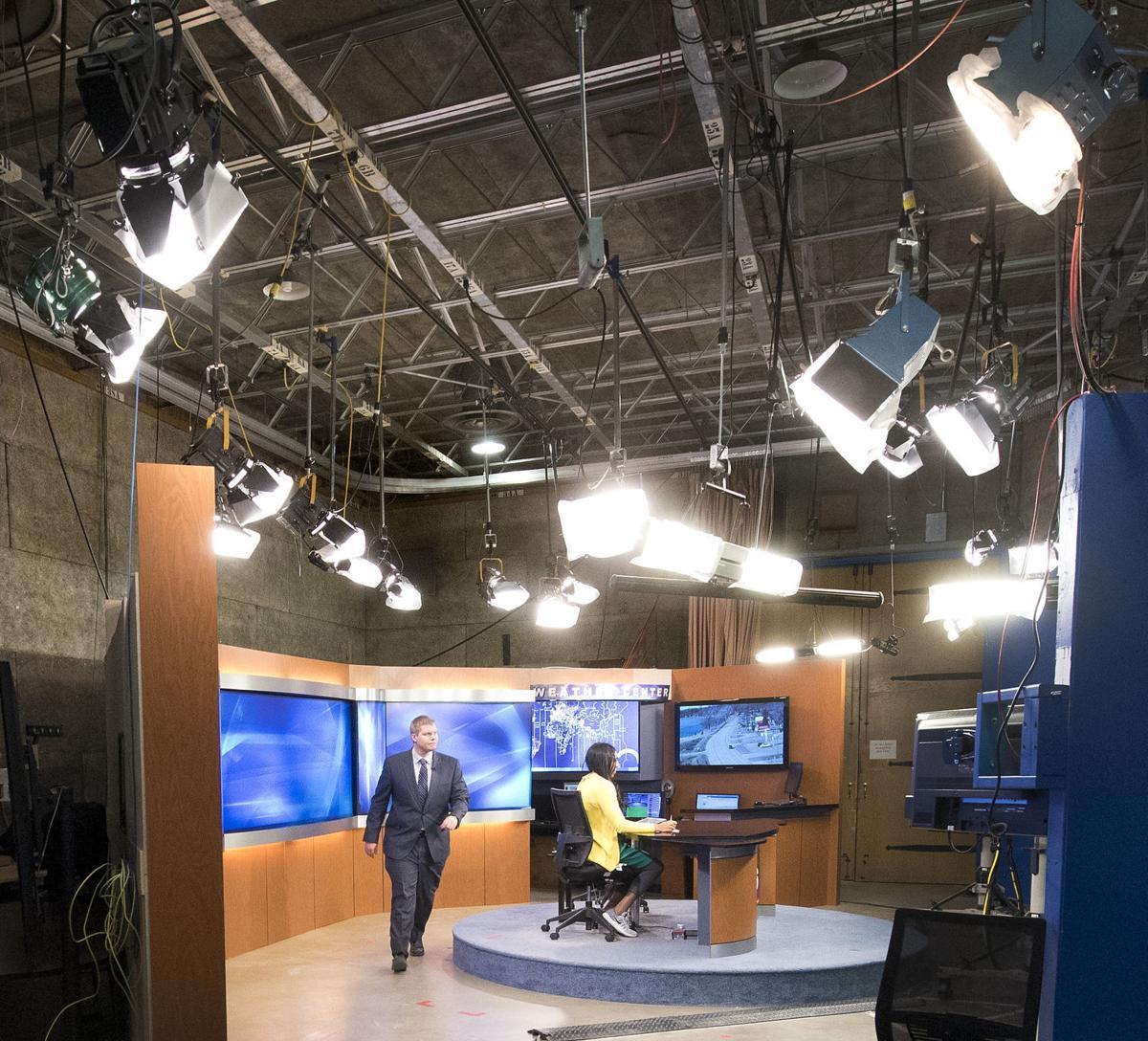 KCAU television new studio