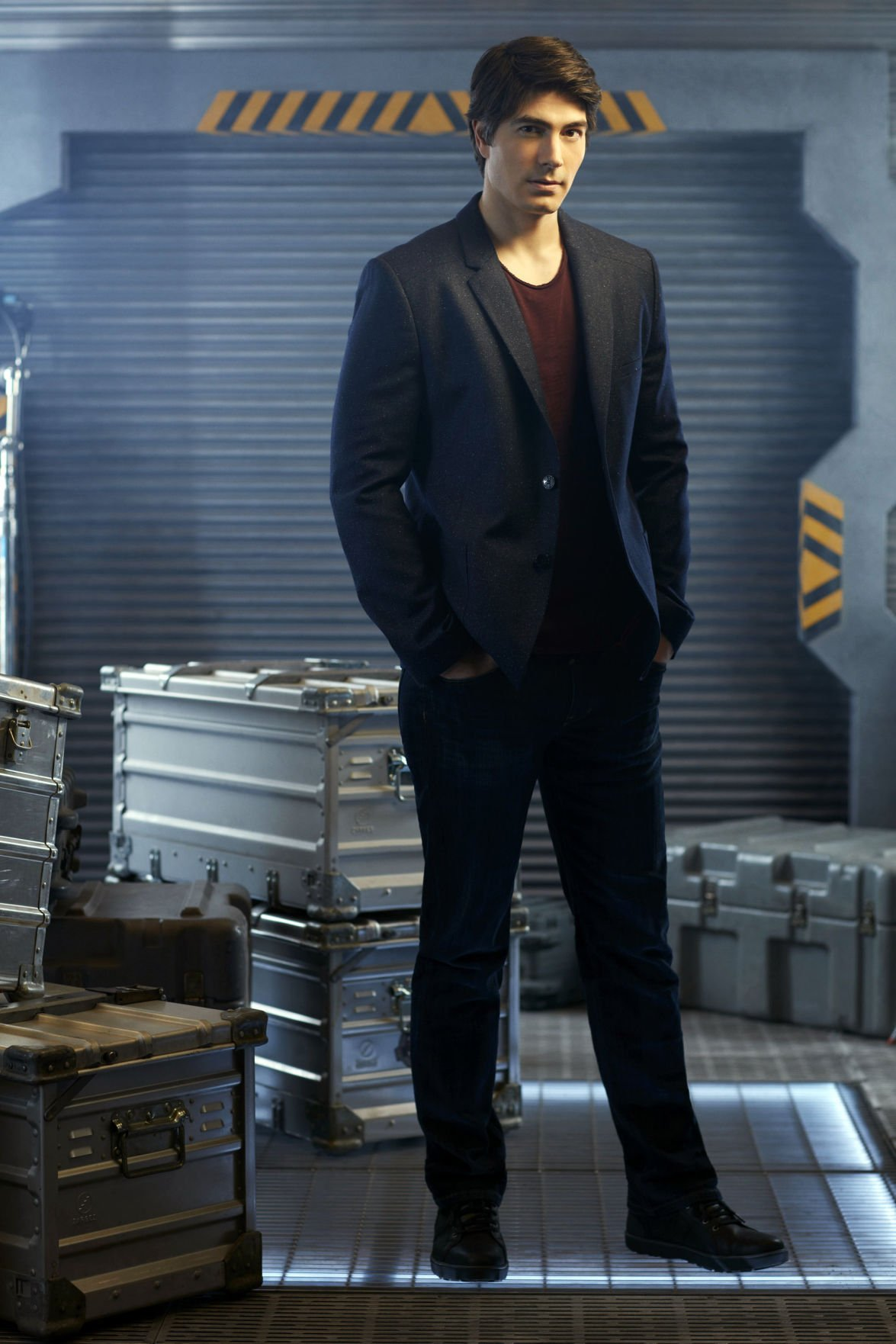 Iowan Brandon Routh Finds Another Superhero Life