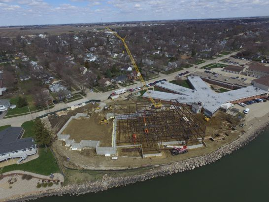 Methodist Manor Retirement Community, construcdtion in Storm Lake