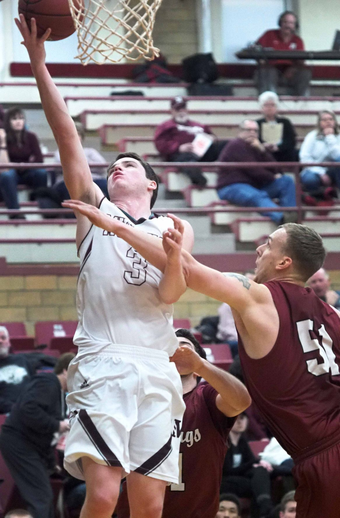 Hastings at Morningside College basketball