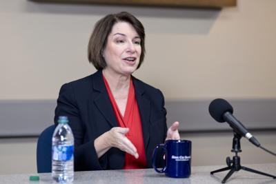 Amy Klobuchar talks policy