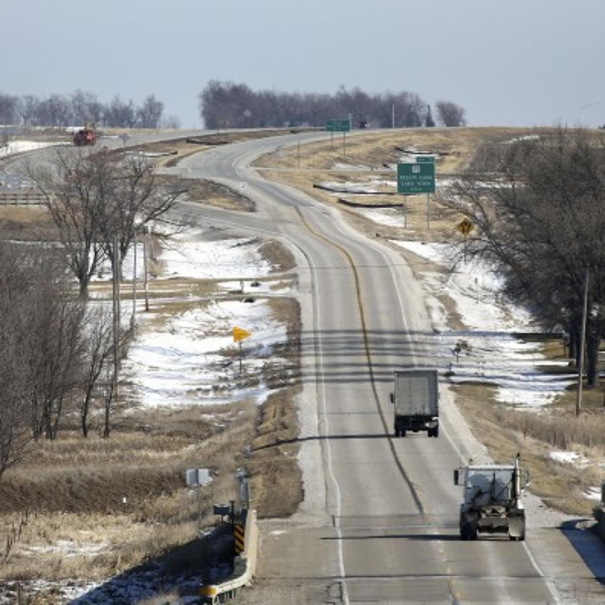 Highway 20 widening will mean closure near Correctionville