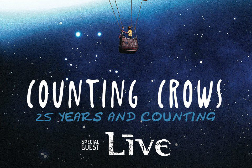 Counting Crows w/Live