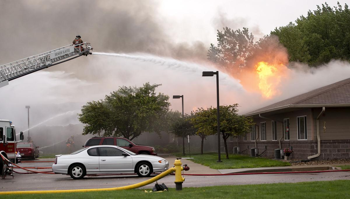 Northport Apartments fire