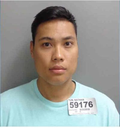 Nathan Tun mugshot