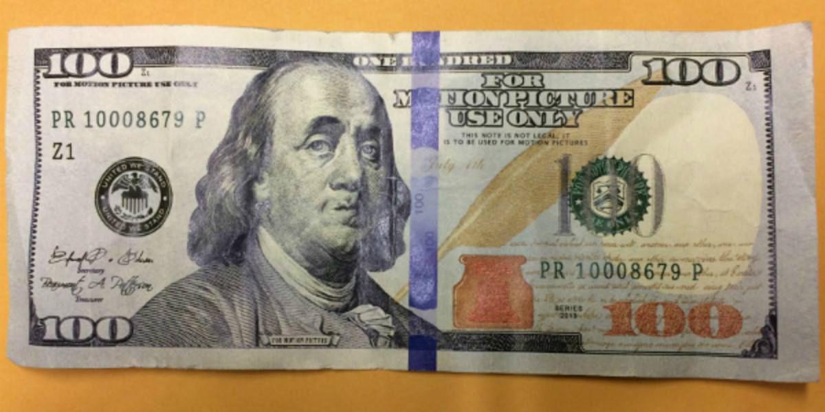 Counterfeit $100