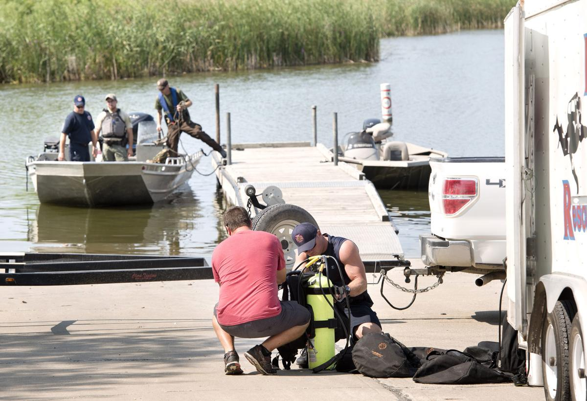 Search for missing kayaker