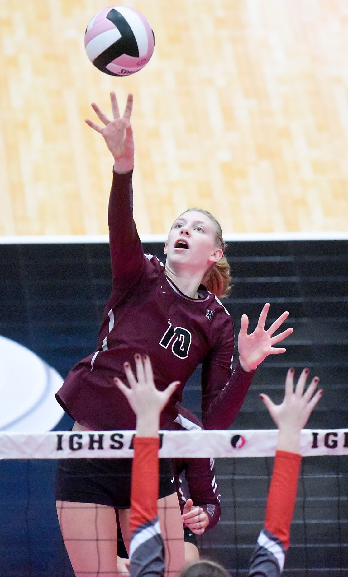 Iowa State Volleyball Class 2A Western Christian vs. Sidney