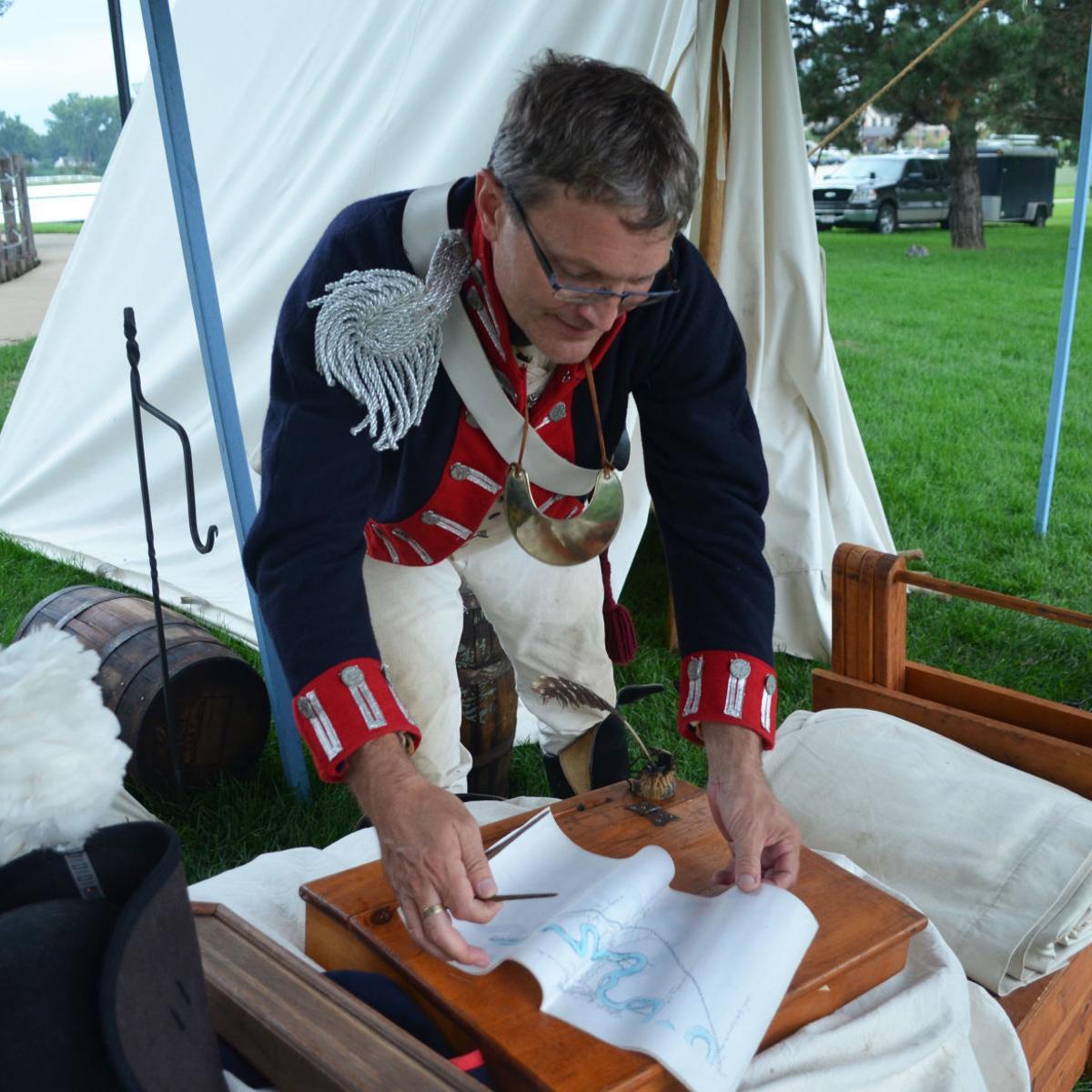 Goodbye, Sgt  Floyd: Reenactors make camp in Sioux City, 214