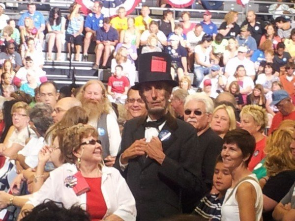 Abe Lincoln at Obama