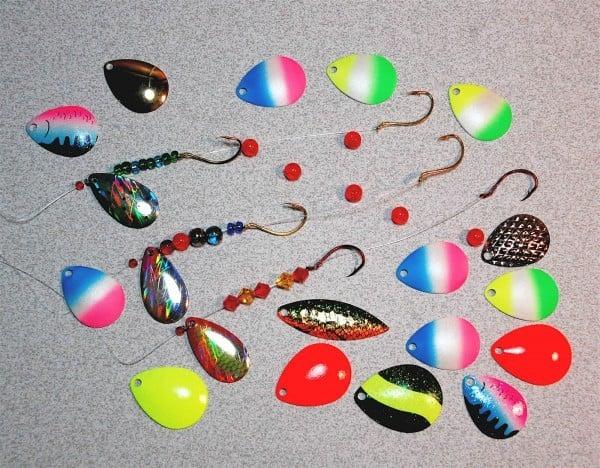 Blue Scale Walleye 1 Hook Spinner Rigs