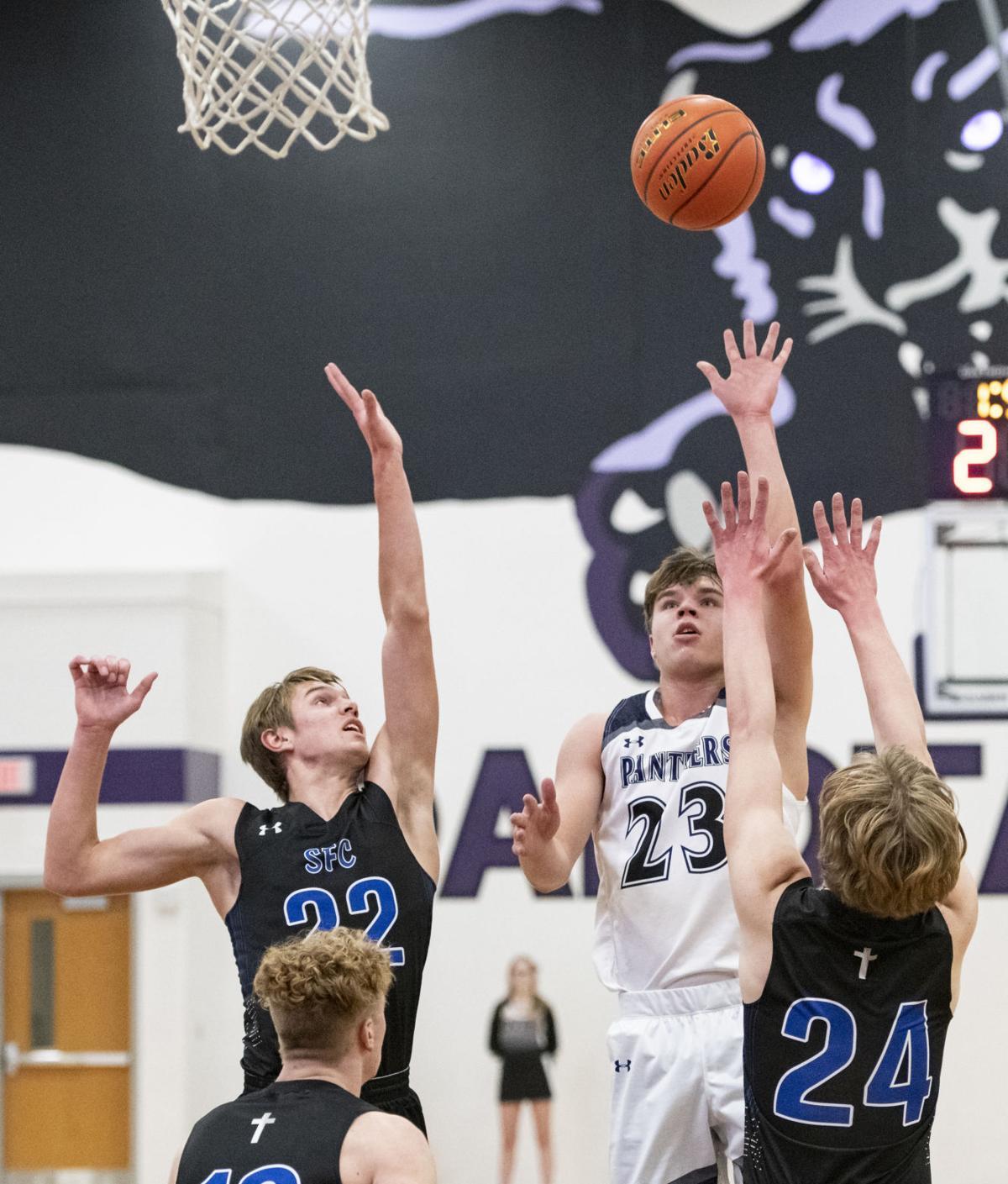 Dakota Valley vs Sioux Falls Christian basketball