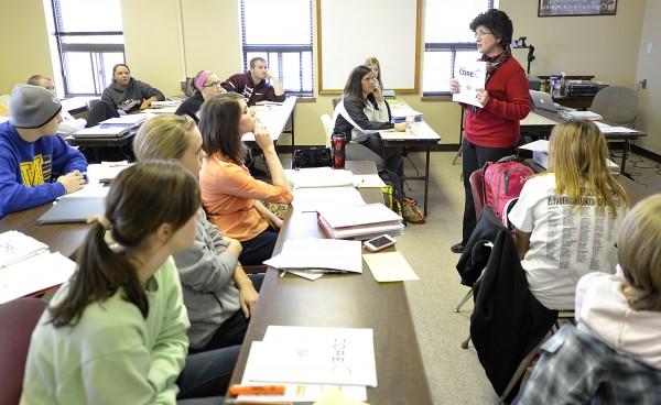 Morningside teacher education class