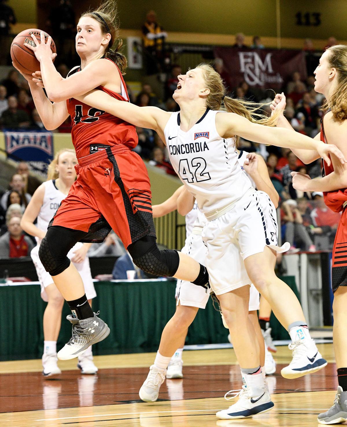 Northwestern College vs Concordia NAIA basketball