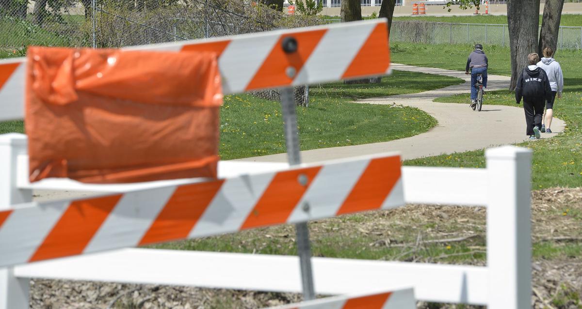 Riverfront trail closures