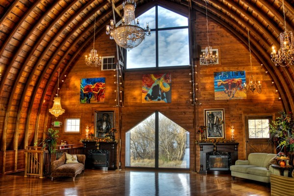 Vintage Barn Turned Into Eye Catching Event Center