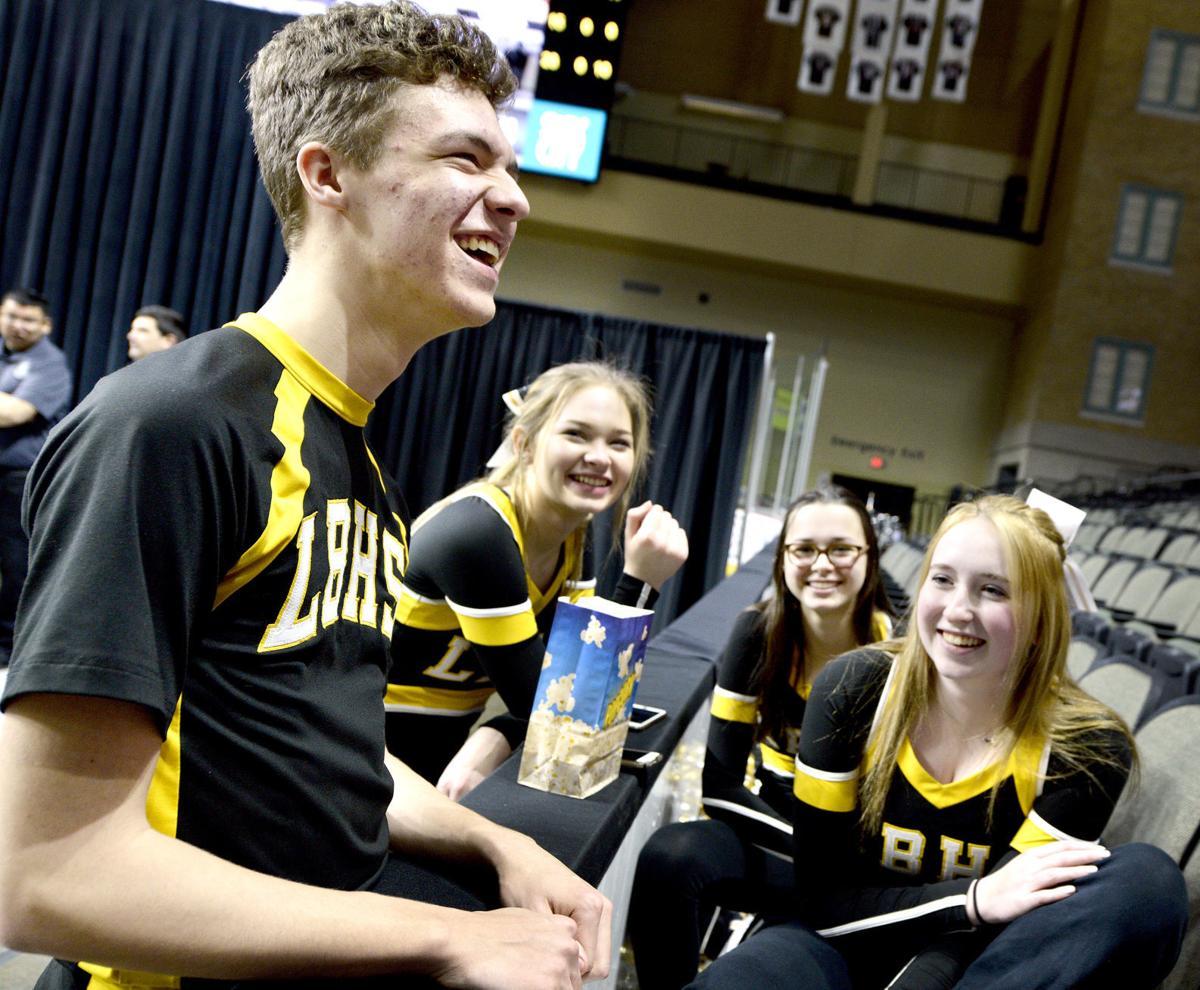 Lawton-Bronson cheerleader Lucas Geisinger #1