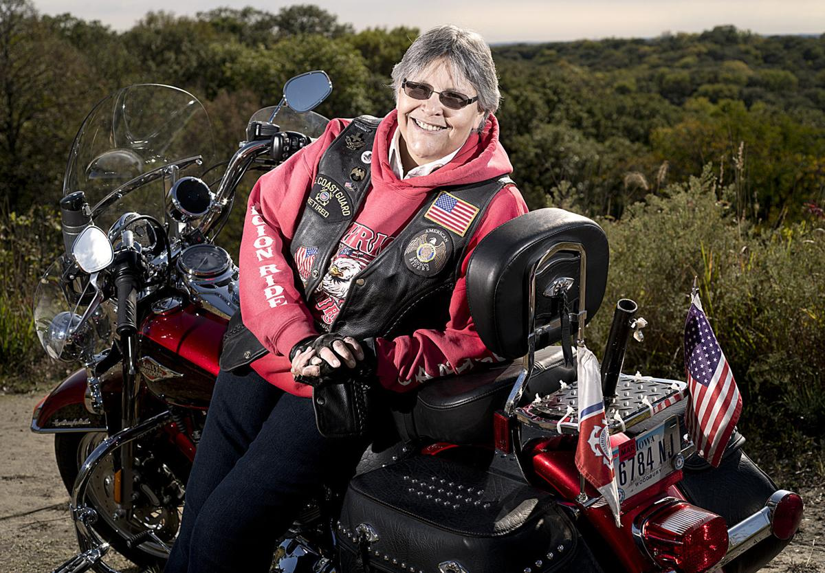 Female Veteran Mary Lou Guthridge