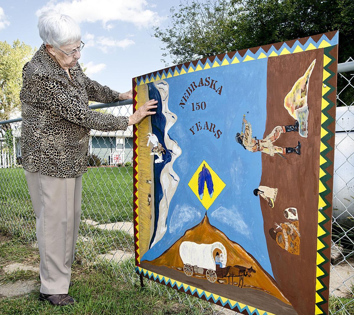 Nebraska 150th barn quilt
