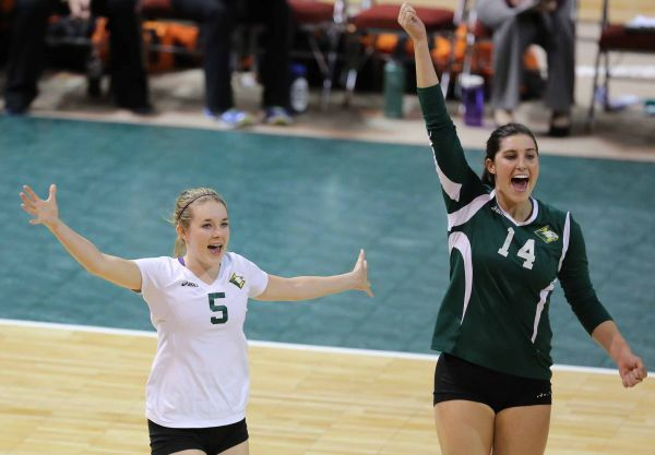 Concordia vs Georgetown 2014 NAIA Volleyball Championships