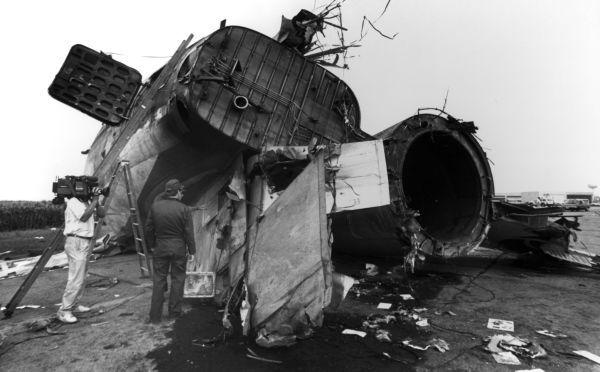 Flight 232 wreckage