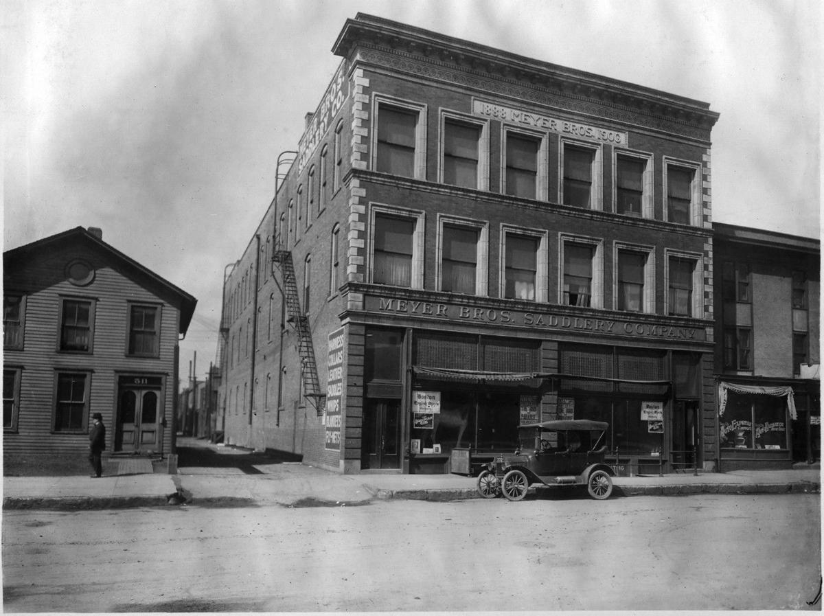 Meyer Bros., Sears 513 Douglas St. in early 1900s