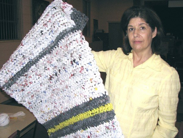 How To Make A Blanket From Grocery Sacks Local Lifestyles Siouxcityjournal
