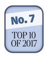 No. 7, Top stories of 2017 logo