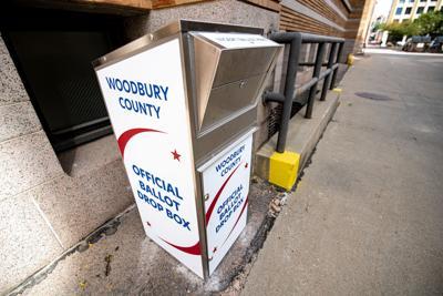 Official ballot drop box