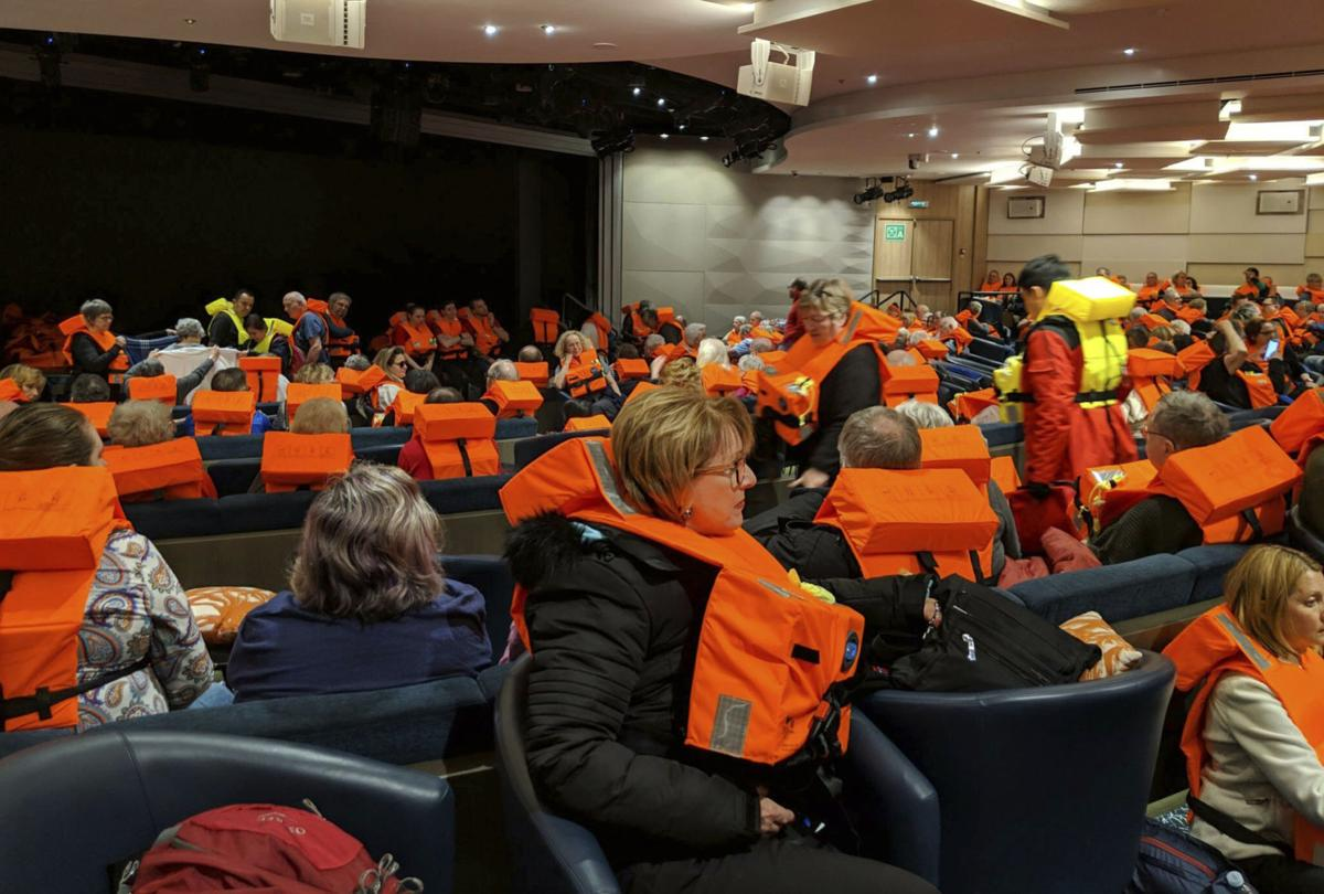 Norway Cruise Ship Mayday