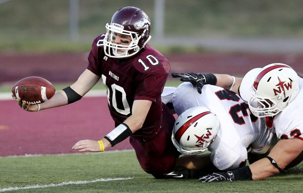 Northwestern at Morningside College football