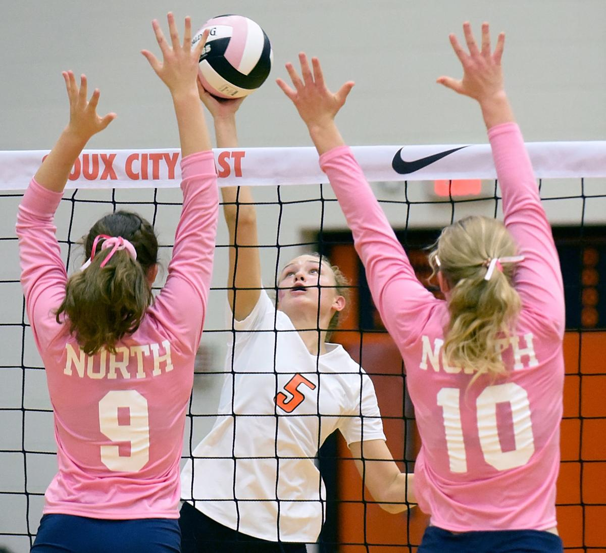 Sioux City North at Sioux City East