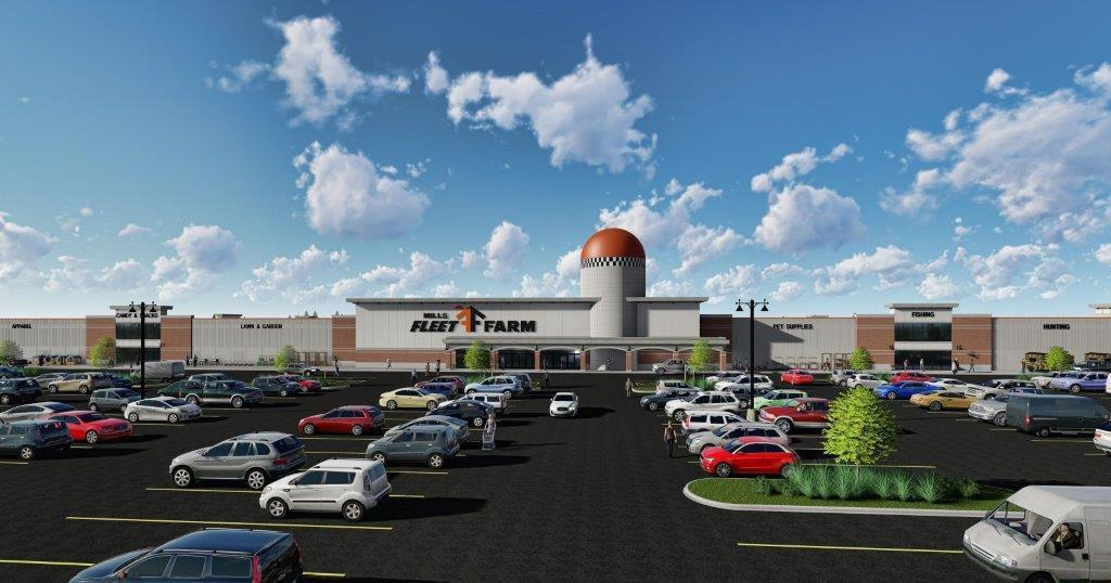 Progress Mills Fleet Farm Ready To Anchor New Shopping Center Progress Retail Siouxcityjournal Com